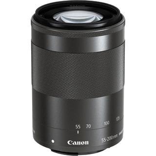 キヤノン(Canon)の❤️新品未使用❤️望遠 キャノン CANON EF-M 55-200mm 黒(レンズ(ズーム))