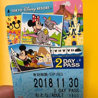 ディズニー(Disney)のディズニーリゾートライン 2日間フリーパス(鉄道乗車券)