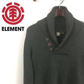 エレメント(ELEMENT)のELEMENT エレメント ニット セーター グレー 灰色(ニット/セーター)