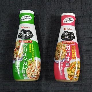 ハウスショクヒン(ハウス食品)のHouseハウス食品 エスニックガーデン クッキングペースト 2本セット(調味料)
