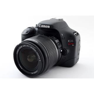 キヤノン(Canon)の♥️Wi-Fi&手ぶれ補正♥️キャノン EOS Kiss x4 レンズキット(デジタル一眼)