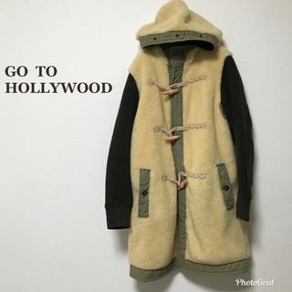 ゴートゥーハリウッド(GO TO HOLLYWOOD)のgotohollywood ボアコート 160 ママサイズ 02(ジャケット/上着)
