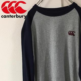 カンタベリー(CANTERBURY)の[90s] カンタベリー ロンT ワンポイントロゴ バックプリントロゴ ラグラン(Tシャツ/カットソー(七分/長袖))
