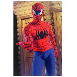 『新品』(身長160-170cm)スパイダーマンコスチューム/ハロウィン(その他)