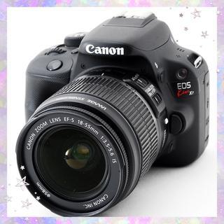 キヤノン(Canon)のスマホに送れる!大人気機種キャノン EOS Kiss X7初心者向け(デジタル一眼)