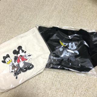 ディズニー(Disney)のB'z★Exhibition ディズニーランチトート ナチュラル/ブラック各1(ミュージシャン)