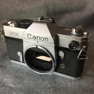 キヤノン(Canon)のCanon FX フィルム一眼レフカメラ ジャンク(フィルムカメラ)