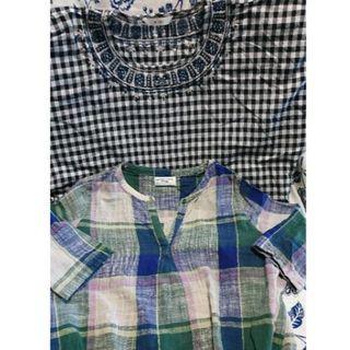ティップトップ(tip top)のtip top 2枚セット 半袖+五分袖(シャツ/ブラウス(半袖/袖なし))
