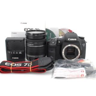 キヤノン(Canon)の★S回数3651回★Canon 7D 18-200mm 手振れ補正レンズキット♪(デジタル一眼)
