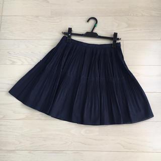 シェロー(chereaux)の【美品】chereaux プリーツスカート(ひざ丈スカート)