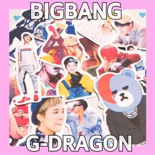 ビッグバン(BIGBANG)のフレークシール(BIGBANG G-Dragon)24枚入(しおり/ステッカー)