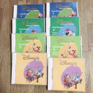 ディズニー(Disney)のDWE✳︎シングアロングCD(キッズ/ファミリー)