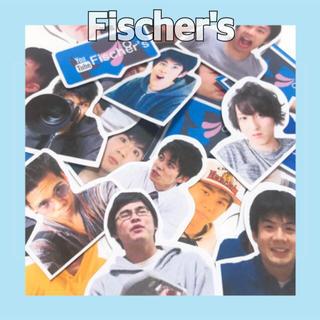 フィッシャー(Fisher)のフレークシール(Fischer's フィッシャーズ)24枚入(しおり/ステッカー)