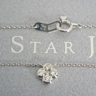 スタージュエリー(STAR JEWELRY)のSTAR JEWELRY❤️5Pダイヤモンドネックレス❤️(ネックレス)