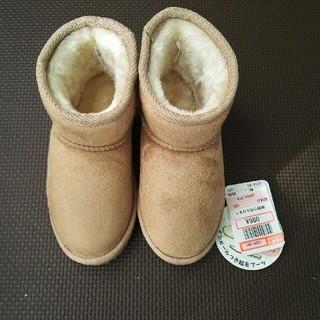 しまむら - インヒールつき起毛ブーツ 16cm