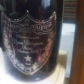 ドンペリニヨン ロゼ ピンク ビンテージ 2000年(シャンパン/スパークリングワイン)