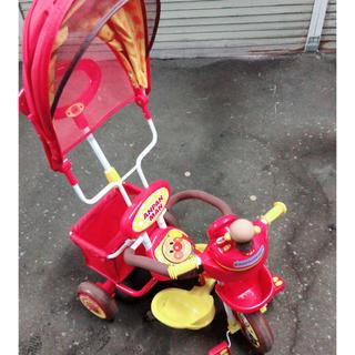 アンパンマン 三輪車 デラックス DX(三輪車)