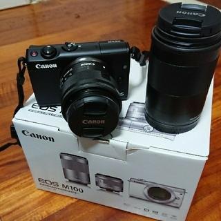 キヤノン(Canon)のCanon eos m100(ミラーレス一眼)