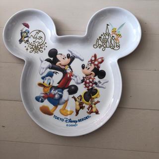 ディズニー(Disney)のディズニー リゾート プレート 皿 2枚セット(プレート/茶碗)