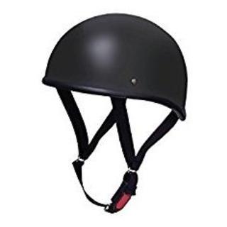 ヘルメット ハーフ ダックテール ブラック XL (頭囲 61cm~62cm未満(ヘルメット/シールド)