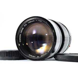 キヤノン(Canon)の★明るい中望遠★キャノン CANON NEW FD 135mm F2.8(レンズ(単焦点))