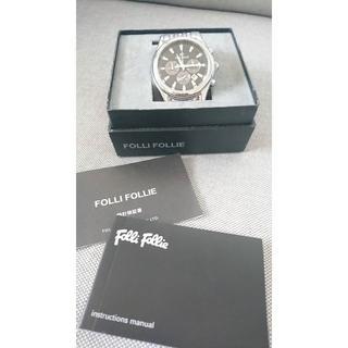 フォリフォリ(Folli Follie)のFOLLI FOLLIE 腕時計 メンズ【保証書有!】(腕時計(アナログ))