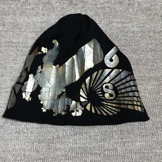 カシラ(CA4LA)のカシラ CA4LA ニット帽 黒(ニット帽/ビーニー)