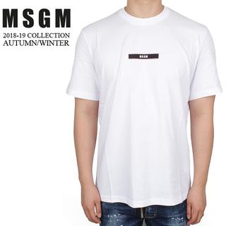 エムエスジイエム(MSGM)の5 MSGM 18aw メンズ 半袖 Tシャツ size M(Tシャツ/カットソー(半袖/袖なし))