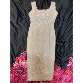 デイジーストア(dazzy store)のウロコ調ファードレス(ミディアムドレス)