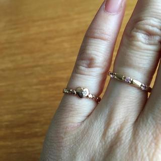 ヨンドシー(4℃)のK10ピンキーリング(リング(指輪))