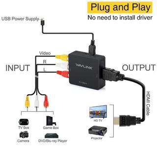 AV2HDMI コンポジット  変換 HDMIコンバーター g30(映像用ケーブル)