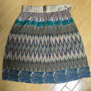 グラスライン(Glass Line)のグラスライン フレアスカート(ひざ丈スカート)