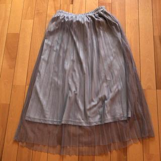 シマムラ(しまむら)のグレープリーツスカート(スカート)