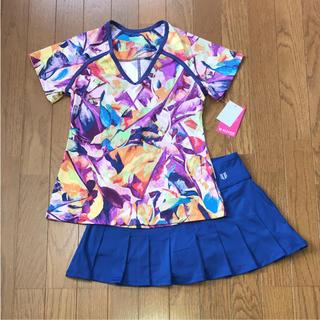 エレガントなテニスセットアップ★日本サイズS〜M(ウェア)