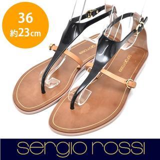 セルジオロッシ(Sergio Rossi)のセルジオロッシ ラバー トングサンダル 36(約23㎝)(サンダル)