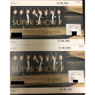 スーパージュニア(SUPER JUNIOR)のSuper show7 ライブチケット(K-POP/アジア)