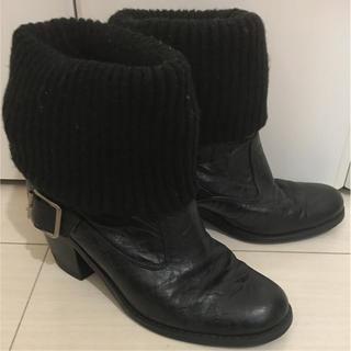 ナイン(NINE)のNINE 牛革 2way ブラック エンジニア ブーツ L 24(ブーツ)