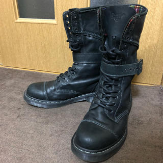 ドクターマーチン(Dr.Martens)のDr.Martens TRIUMPH1914 M 14ホール 黒(ブーツ)