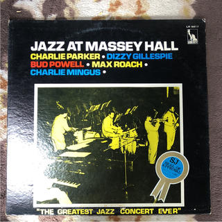 JAZZ AT  MASSEY HALL  レコード(ジャズ)