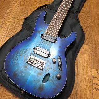 アイバニーズ(Ibanez)のIbanez S7721PB アイバニーズ 7弦 Sシリーズ(エレキギター)