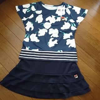 フィラ(FILA)の新品 フィラ テニス シャツ ネイビー L / エレッセ プリンス パラディーゾ(ウェア)