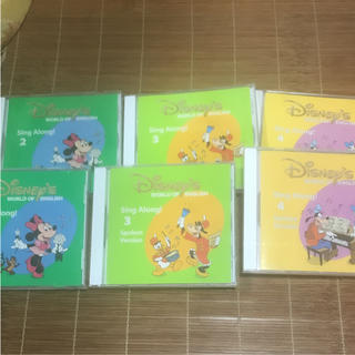 ディズニー(Disney)のディズニー英語システム シングアロング CD 2〜4(キッズ/ファミリー)