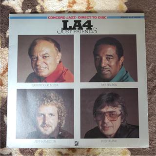 LA4  レコード  JUST FRIENDS(ジャズ)