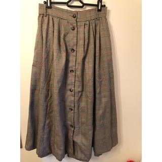 ティップトップ(tip top)のグレンチェックロングスカート(ロングスカート)