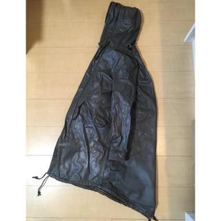 シシ(sisi)のsisii シシ / fishtail leather coat レザー コート(モッズコート)