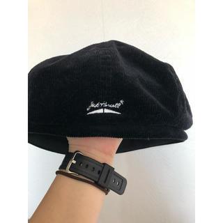 カスタネ(Kastane)のコーデュロイ生地ベレー帽(ハンチング/ベレー帽)