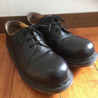 ドクターマーチン(Dr.Martens)のDr.Martens ブラック UK6 1925 5400 箱付き(ローファー/革靴)