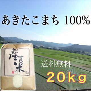 【ミント様専用】愛媛県産あきたこまち100%   新米20㎏  農家直送(米/穀物)