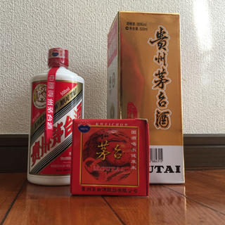 ●貴州茅台酒 マオタイ酒 38% 500ml 940g 2008年 未開栓品  (蒸留酒/スピリッツ)