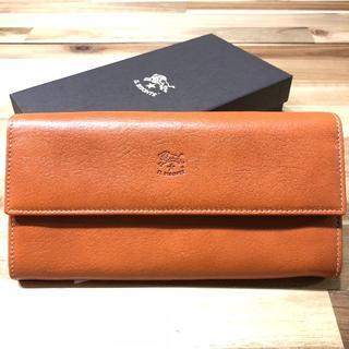 イルビゾンテ(IL BISONTE)の新品 イルビゾンテ 長財布 二つ折り 財布 ヤキヌメ L字ファスナー ブランド(財布)